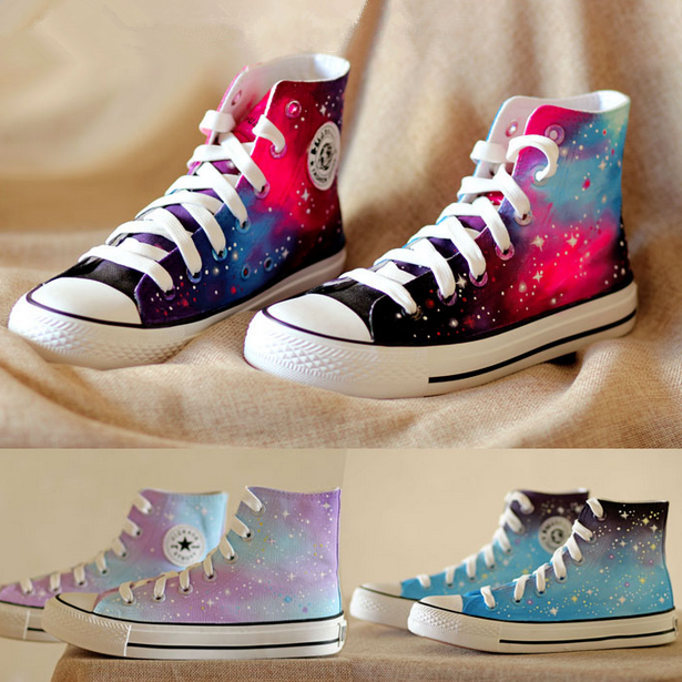 8706ecb6245 Galaxy harajuku canvas shoes · Sanrense · Online Store Powered by Storenvy