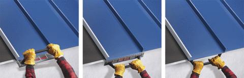 Malco Drip Edge Folding Tool Drip Edge Metal Roof Standing Seam Roof
