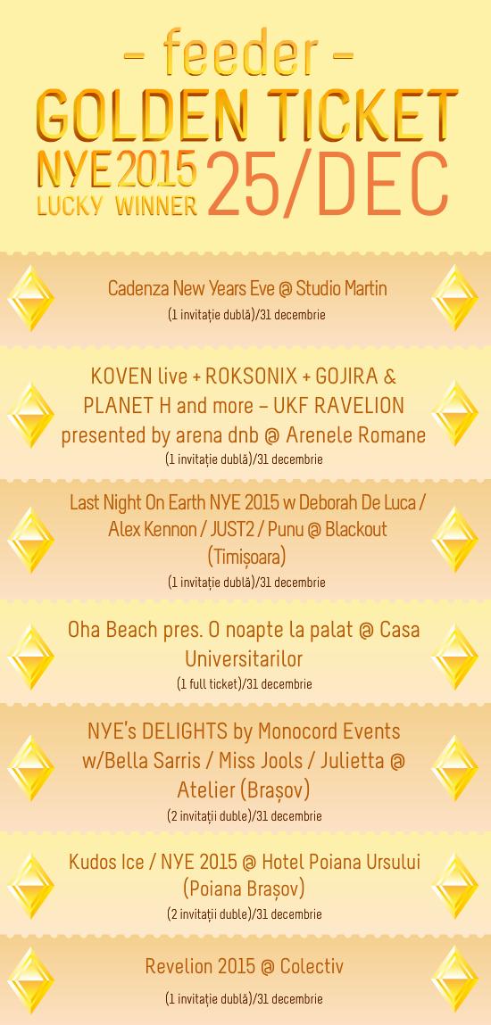 Golden Ticket NYE 2015