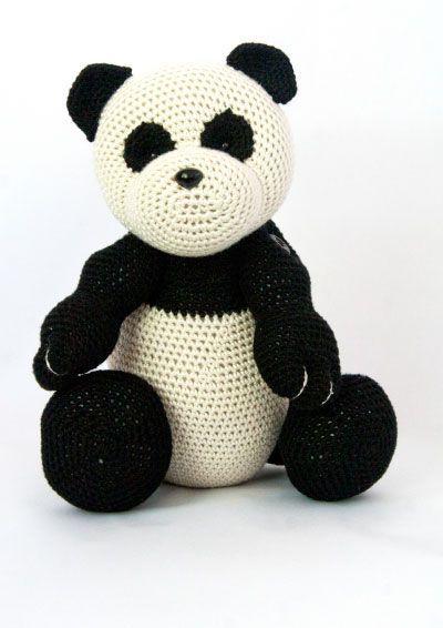 Crochet Free Pattern 28 Mei The Panda Bear Amigurumi Stuffed Toy