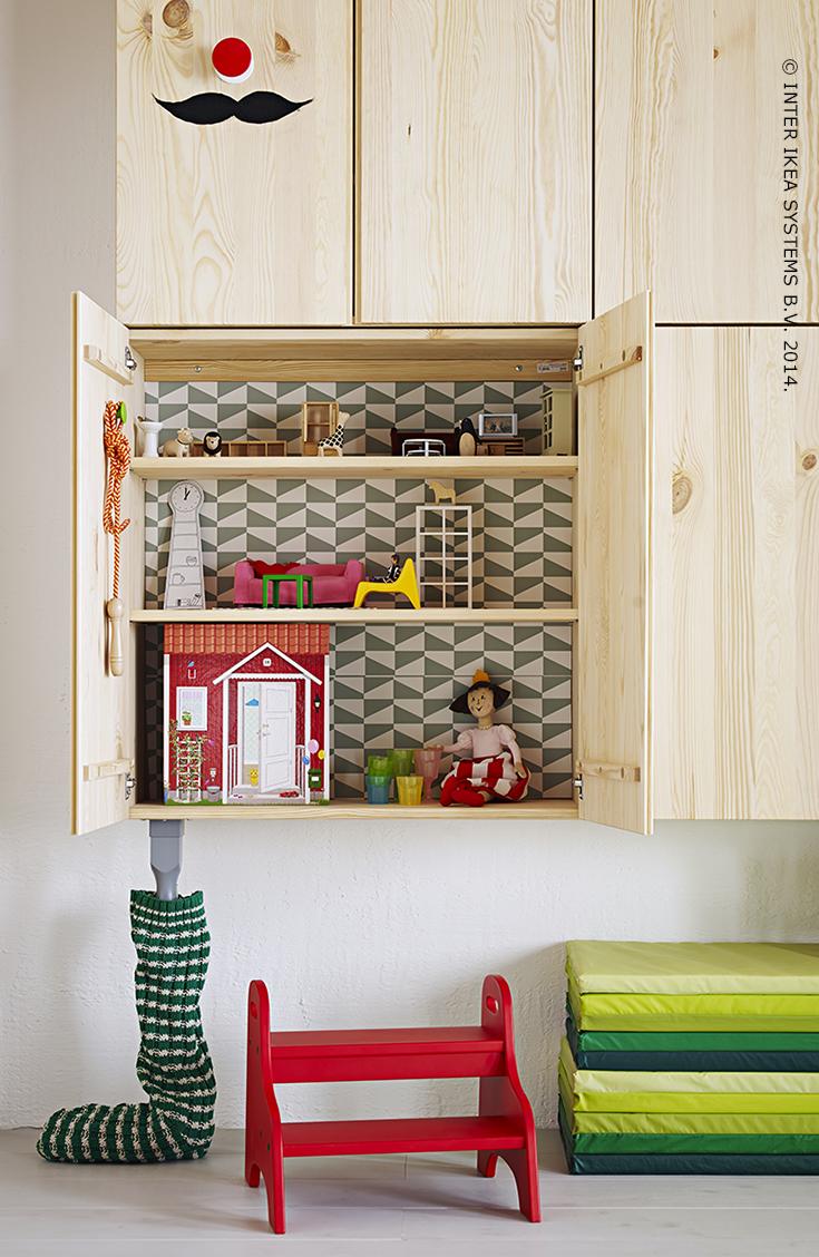 Ivar l ment porte pin 80 x 30 x 83 cm kid room chambre enfant salle de jeux et salle - Jeux de nettoyage de chambre ...