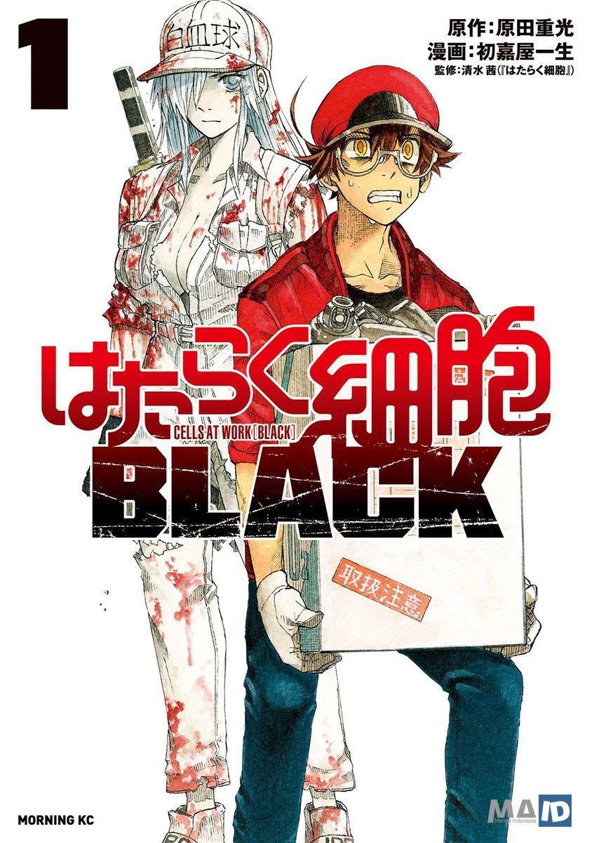 Hataraku Saibou BLACK Chapter 02 Bahasa Indonesia