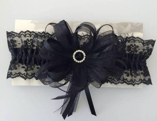 Prom Garters Prom Garter in Black