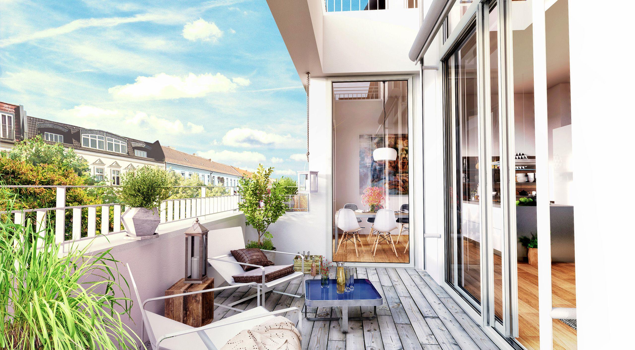 Architekturvisualisierung Berlin berlin joachim freidrich straße loft rooftop render