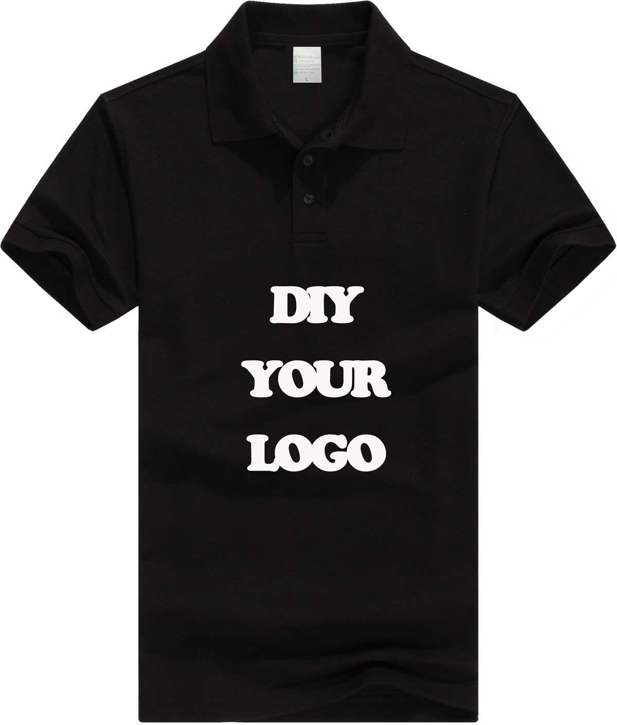 Fashion Cotton Men Women Camisa Custom Logo Polo Shirt Short Sleeve