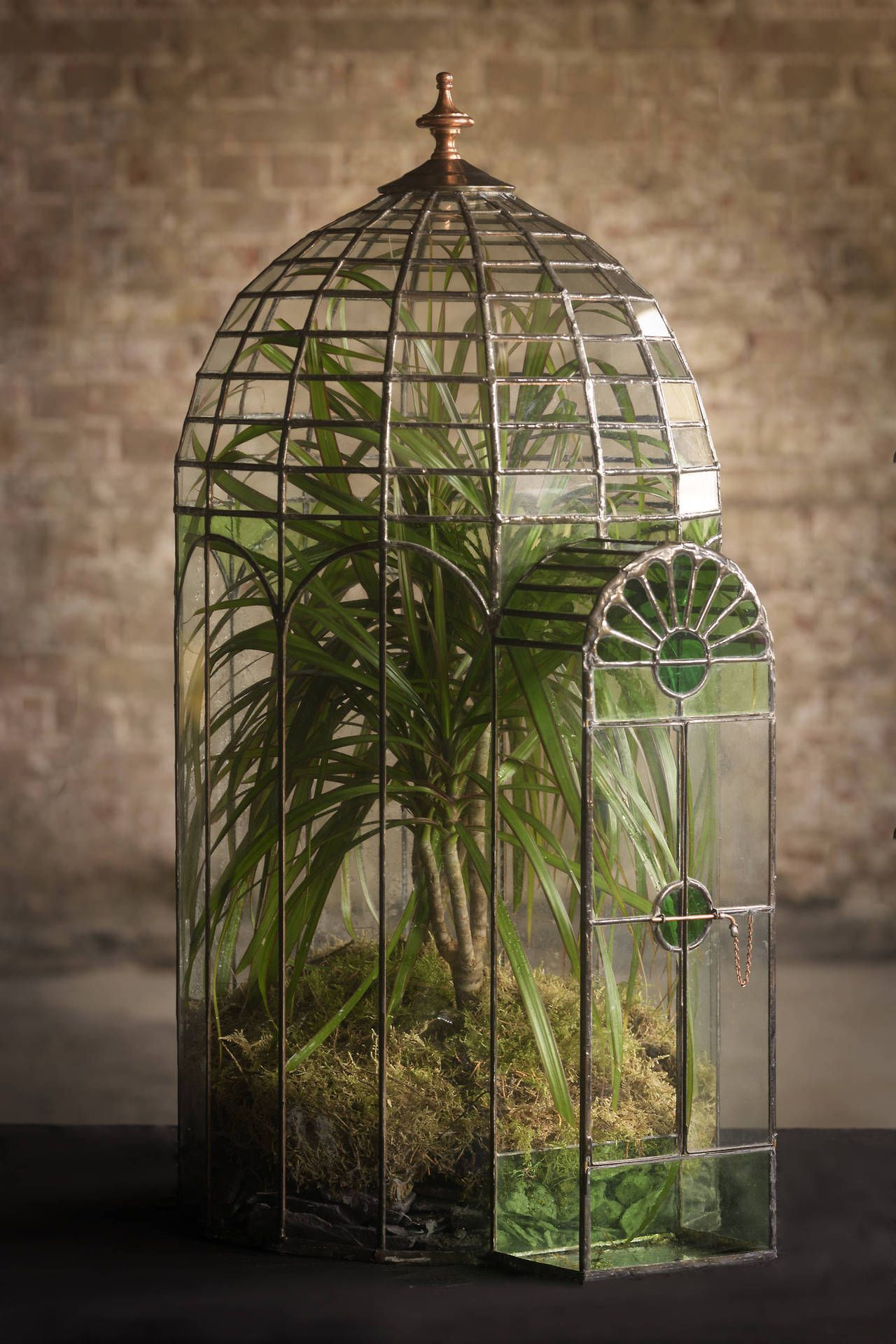 Domed Glass Terrariums By Keith Baddams On Etsy See Our Stained