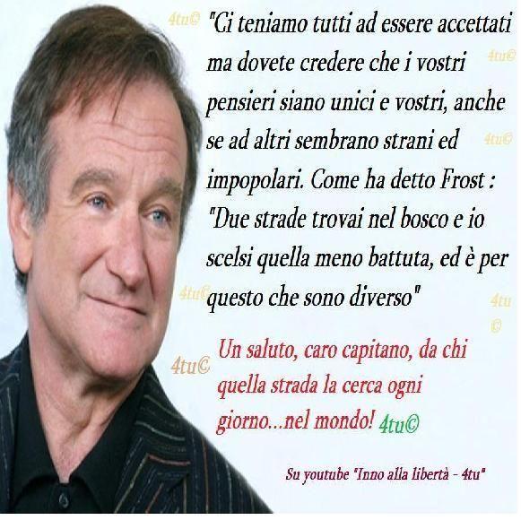 Risultati Immagini Per Robin Williams Frasi Con Immagini
