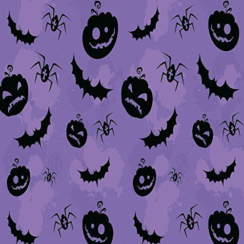 GladsBuy Halloween Decoration 6 x 6 Computer Printed Photography - halloween decoration themes
