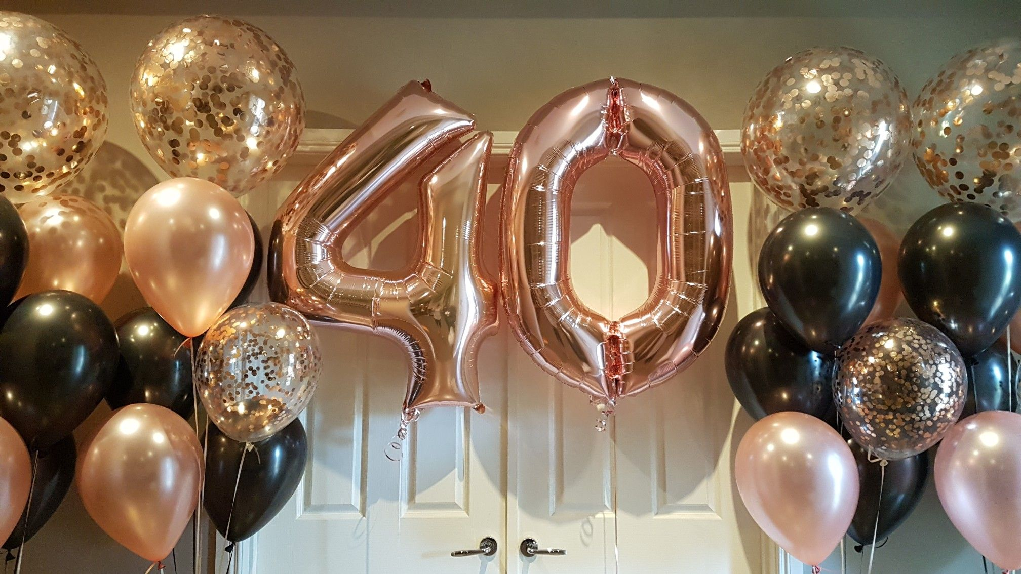 40th Birthday Rose Gold Rose Gold Party 40th Birthday Party Decorations Birthday Roses [ 1134 x 2016 Pixel ]