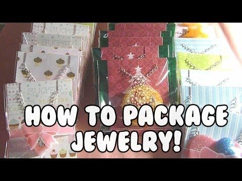 ▶ HOW TO - Package Jewelry Necklaces - YouTube