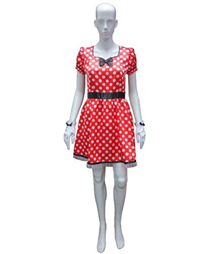 Adult Womenu0027s Sassy Minnie Mouse Costume (L) *** Visit the image link more details.  sc 1 st  Pinterest & Adult Womenu0027s Sassy Minnie Mouse Costume (L) HC-218 *** Visit the ...