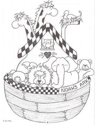 Arca de Noé by Lucia Helena Cesar, via Flickr   Crianças   Pinterest ...