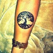 Tree Of Life Tattoo Inner Arm Best Tattoo Ideas