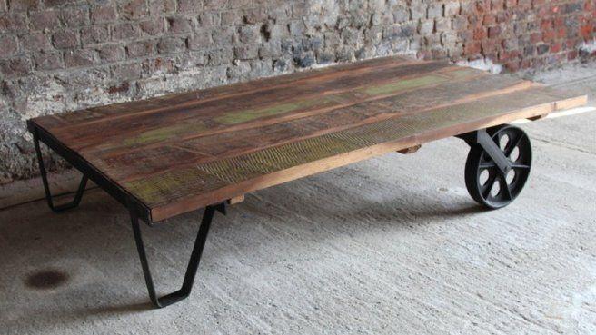 Table Avec Palette Sur Roulettes 20 idées pour fabriquer une table basse avec des palettes | nomadic