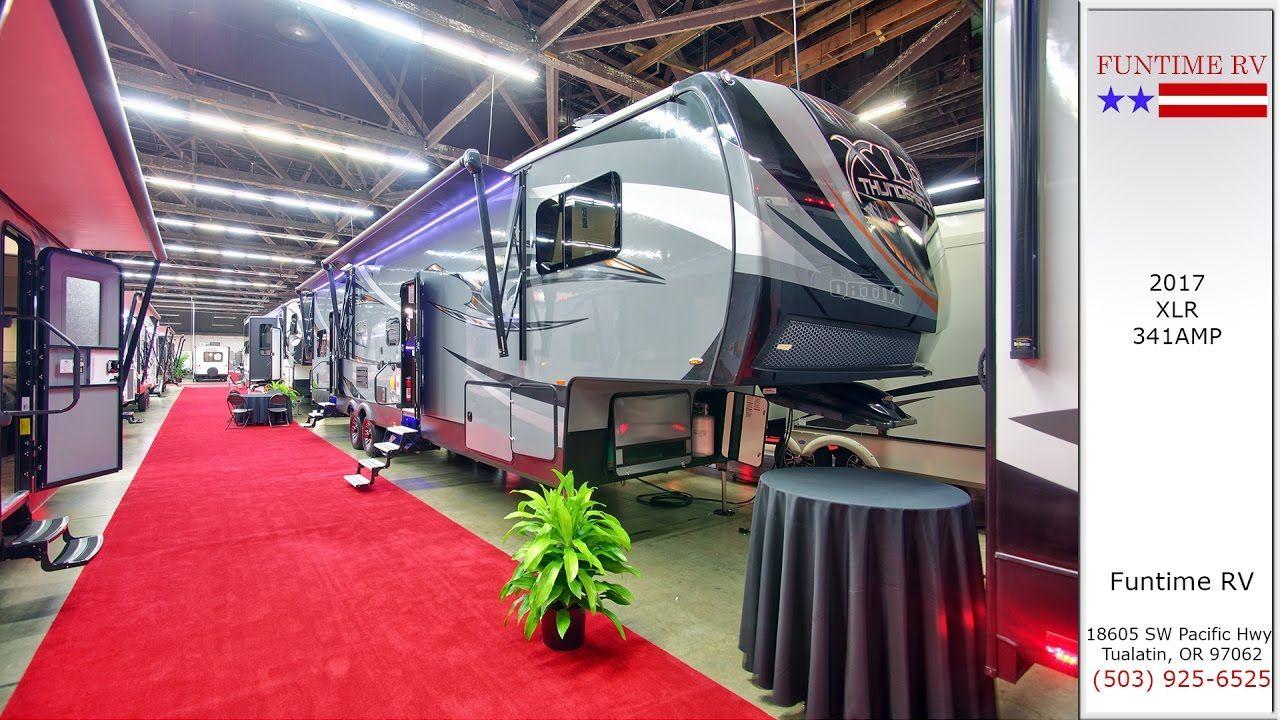 2017 XLR Model 341AMP Travel Trailer For Sale near Portland, Oregon