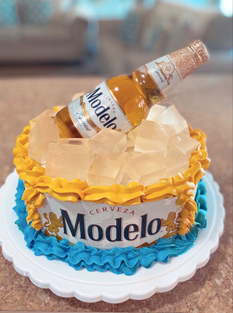 Modelo Beer Cake In 2020 Beer Cake Modelo Beer Cake Cake