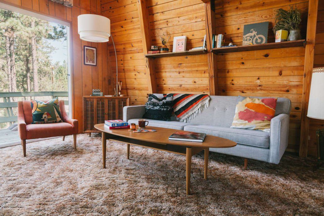 A Warm, Cozy Cabin Will Make You Want to Move to the Woods ...