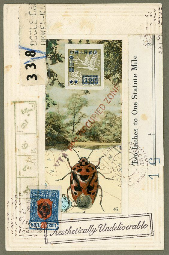 Nick Bantock original-faux-mail-preoccupied-bug