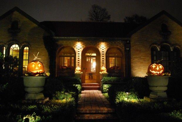 Halloween lightsjpg Gardenscape Pinterest Gardens