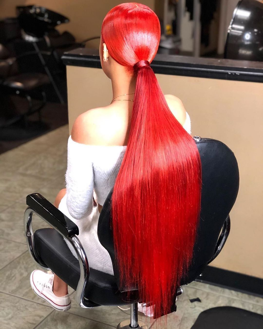 Lm Straight Red Long Lace Front 13x4 Full Lace Human Hair Wig Pre Plucked With Baby Hair Hair Styles Hair Laid Wig Hairstyles