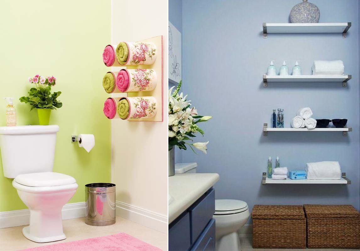 banheiro pequeno  Organização  Pinterest  Banheiro pequeno, Banheiros e Or -> Banheiro Pequeno Organizacao