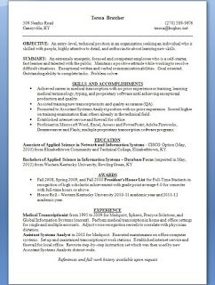 Assistant Systems Analyst Resume Format In Word Free Download