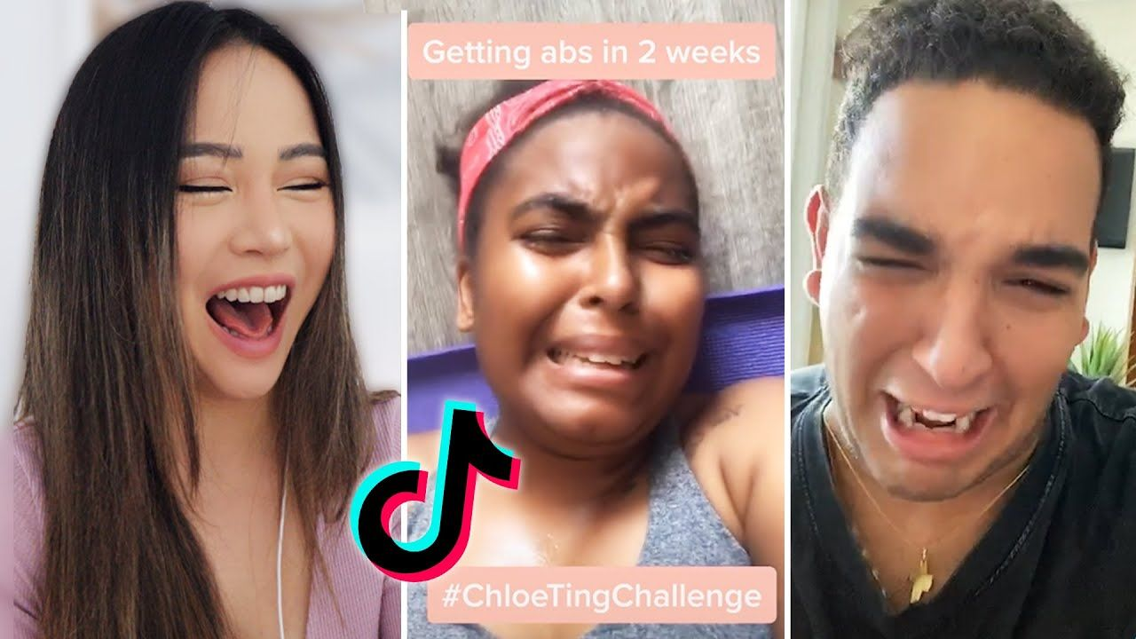 Can You Get Abs From Laughing A Lot Final Chloetingchallenge Tiktoks Before It S Gone Funny Youtube In 2020 How To Get Abs Workout Challenge Leg Workout