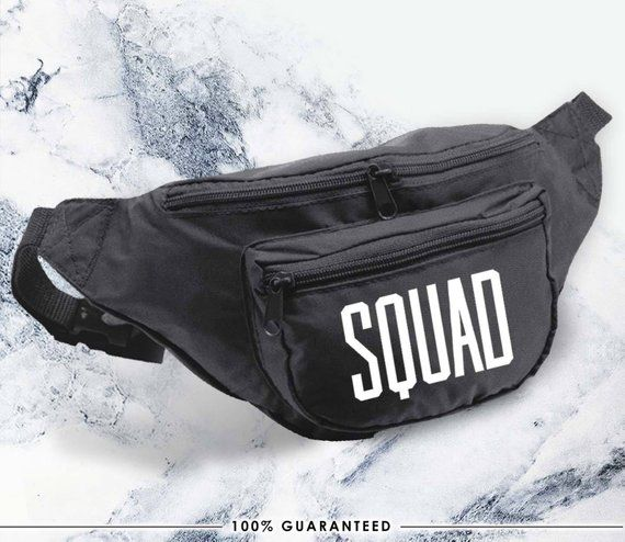 ecf01bc162d2 Squad, fanny packs, wedding gift, gift, bride to be, wedding, neon party,  wedding, love, party, gift
