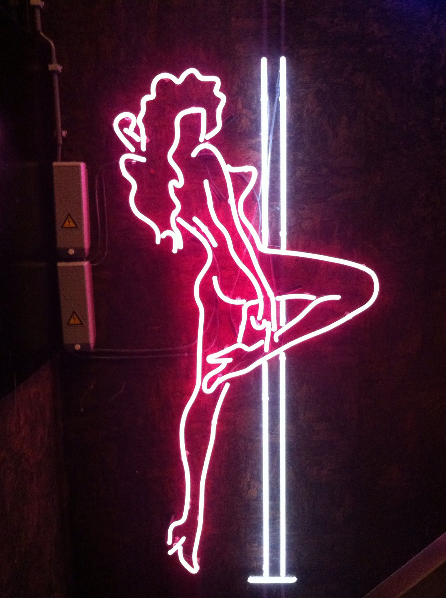 Neon Bedroom Neon Stripper By Nd Made For The Jimmy Woo Amsterdam 11 2012 Www