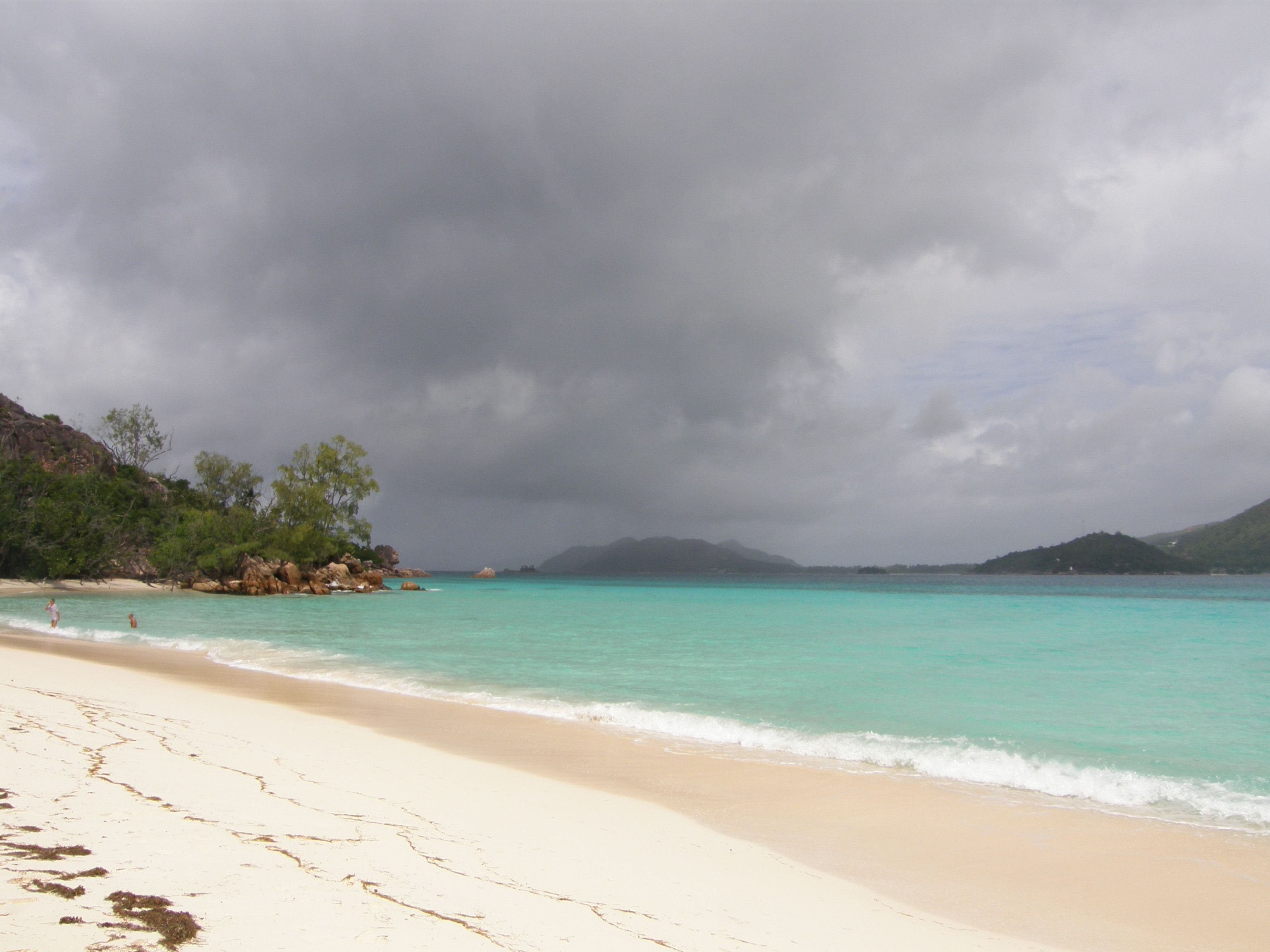 Seychelles...Praslin Island home of the Black Parrot and amazing Coco der Mer and home to our dog Princess Coco der Mer