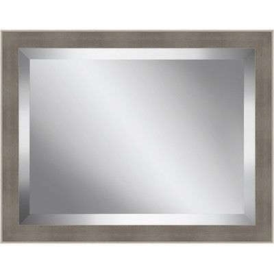 Ashton Wall Décor LLC Champagne Framed Beveled Plate Glass Mirror ...