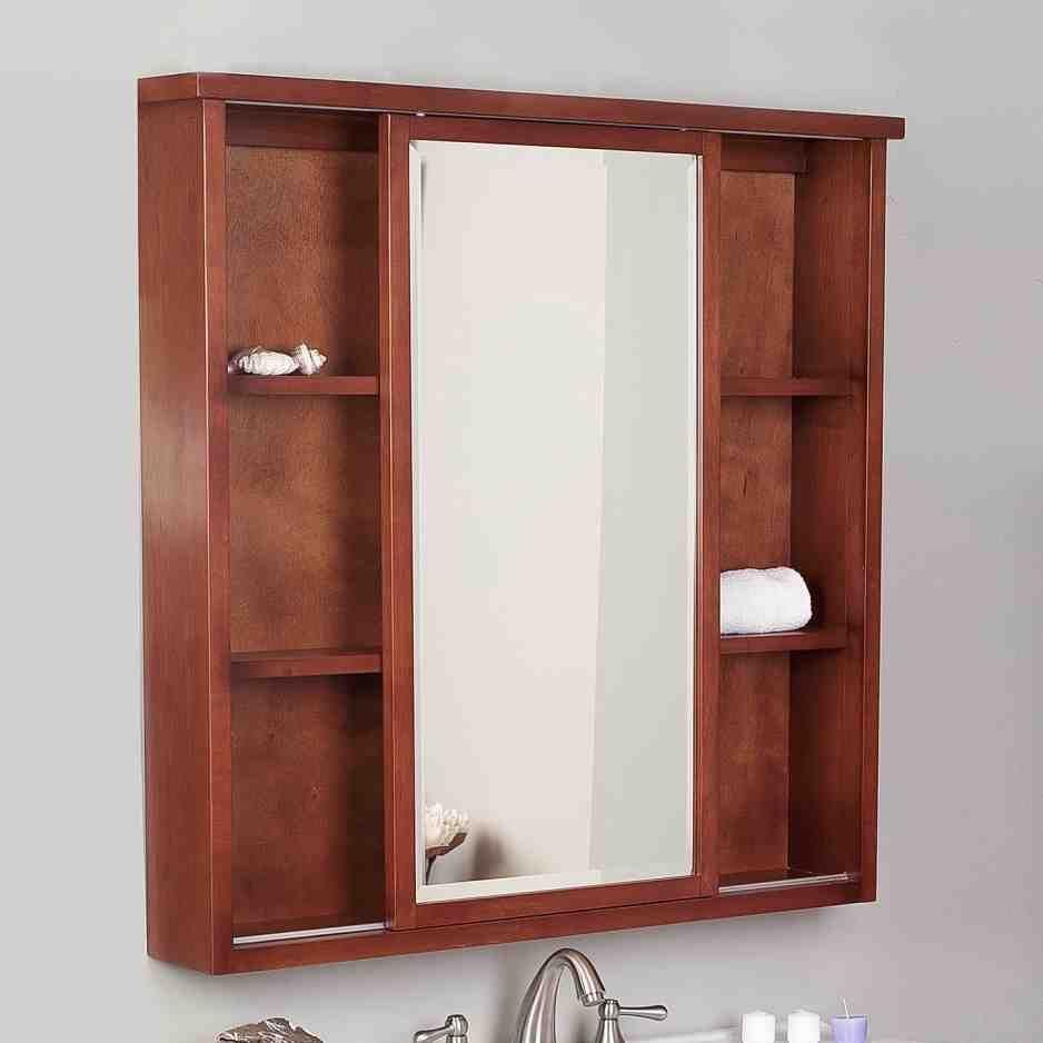 Recessed Mirrored Medicine Cabinets For Bathrooms Bathroom