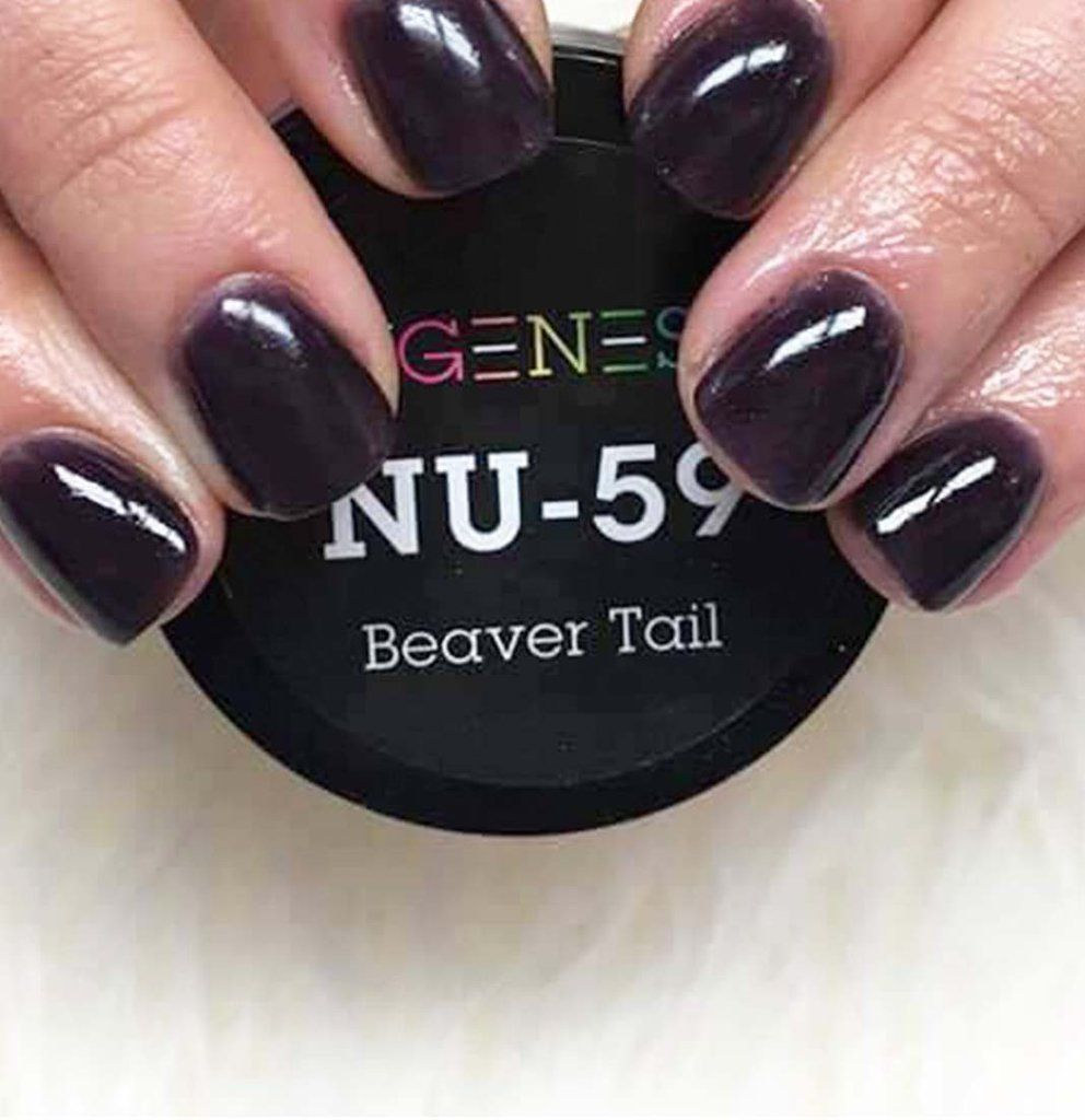 NuGenesis Nails Dip Powder Beaver Tail NU 59 | Nails | Pinterest