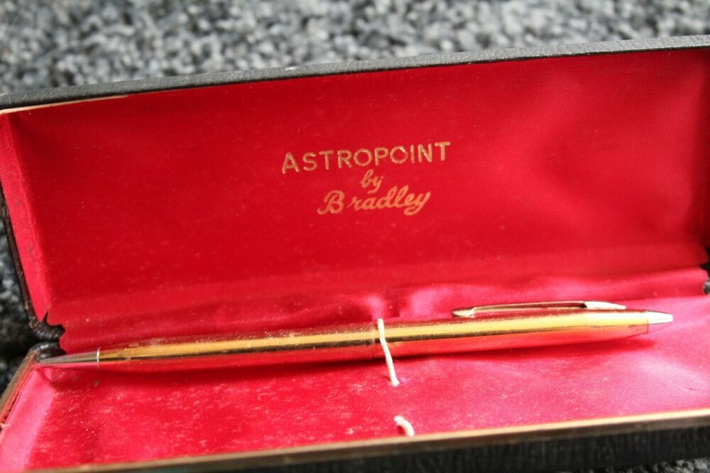 Astropoint By Bradley Mechanical Pencil In Box Vintage Astropoint Mechanical Pencils Pencil Ebay
