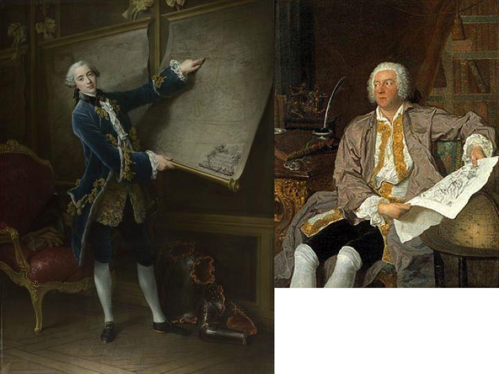 Traje masculino del Rococó