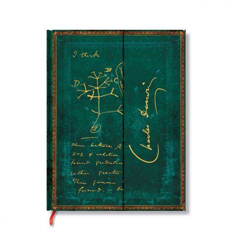 Paperblanks Notizbuch Faszinierende Handschriften liniert groß, Darwin Baum des Lebens. #Paperblanks #DasNotizbuch #Notizbuch #Notebook #TopMarke www.dasnotizbuch.de