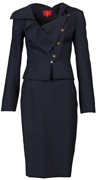 VIVIENNE WESTWOOD NAVY BLUE Womens Suit...navy blue suit  6118bded3ae0b