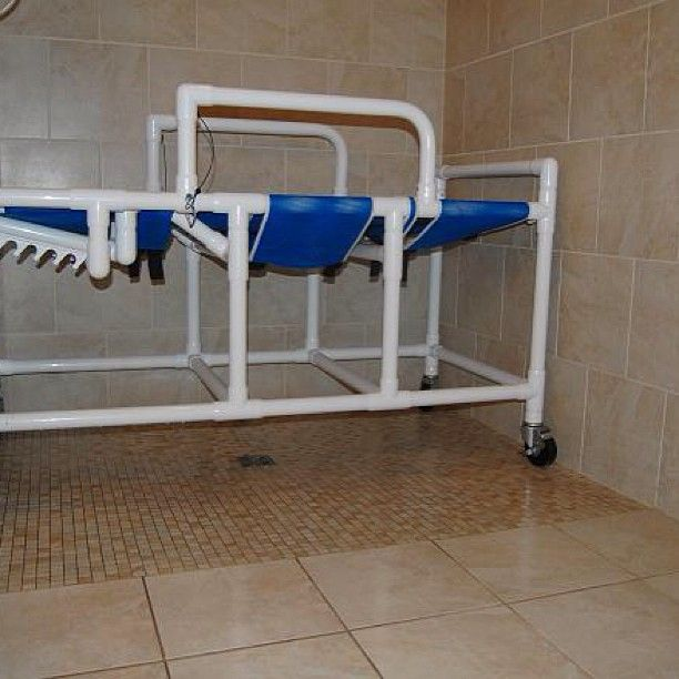 Schluter Kerdi Waterproofed Roll In, Curb Less, Barrier Free. Handicap  Accessible Shower In