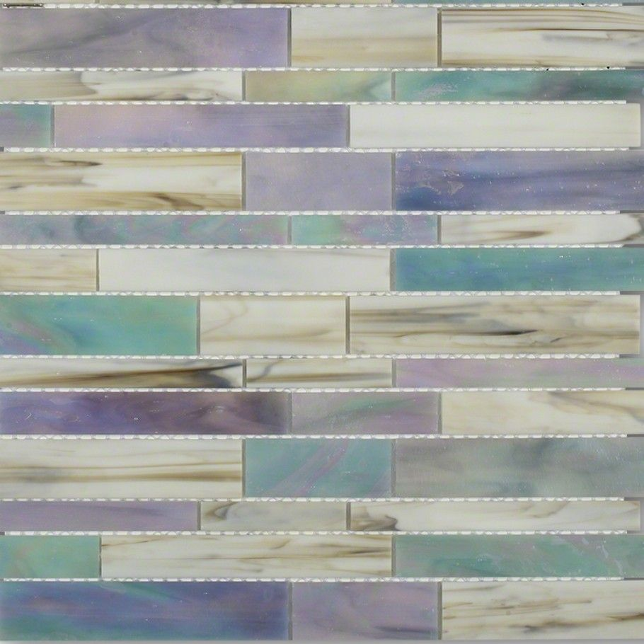 "shop 10 1/2"" x 10 3/4"" matchstix kismet stained glass tile in"