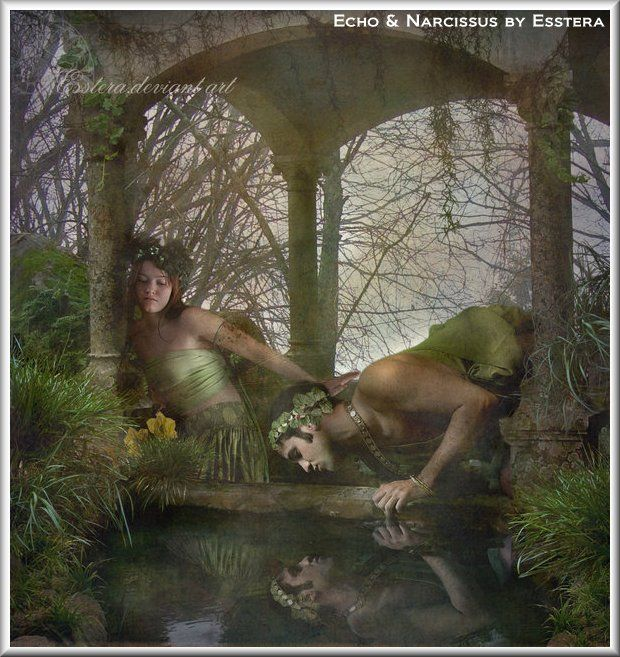 narcissus gyula benczur narcissus echo  narcissus greek mythology google search