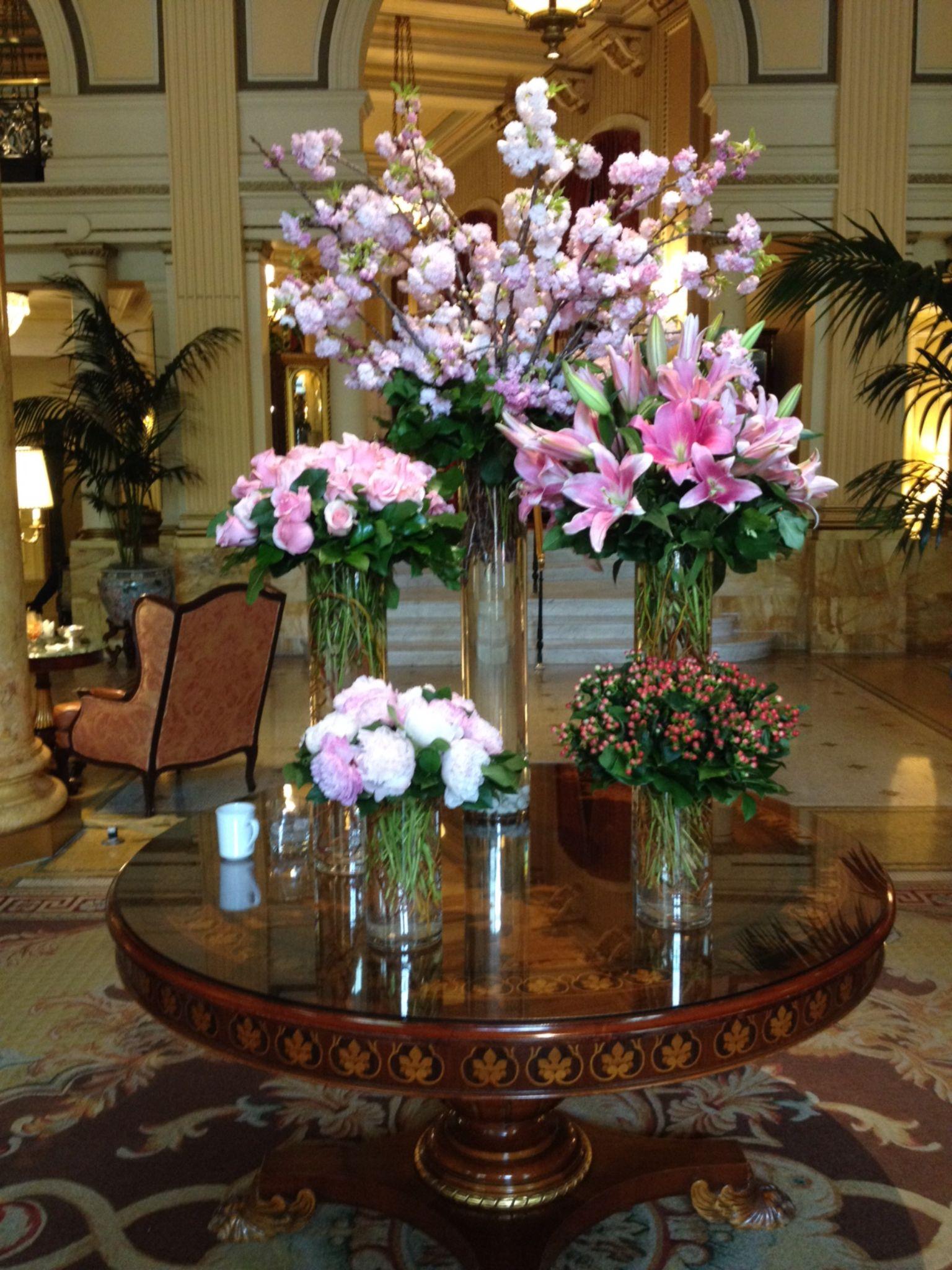 Willard Hotel, Washington, DC May 2015 Modern flower