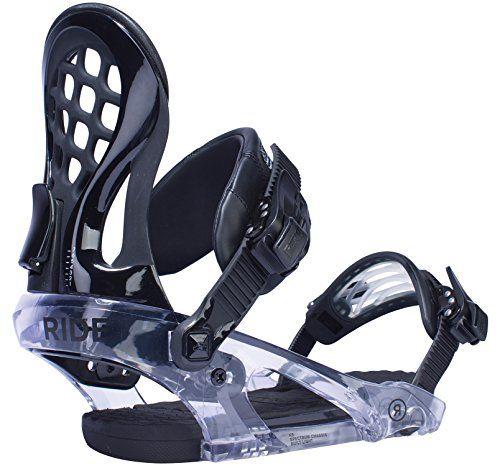 Ride Womens KS Snowboard Bindings Black Medium *** Click