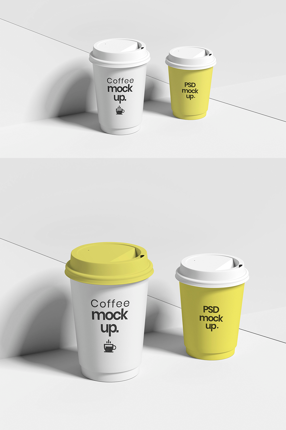 White Coffee Cup Mockups White coffee cups, Coffee cups