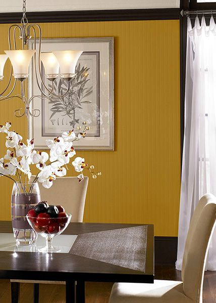 It's Never Too Early To Start Preparing Your Dining Room For The Interesting Mustard Dining Room Design Decoration