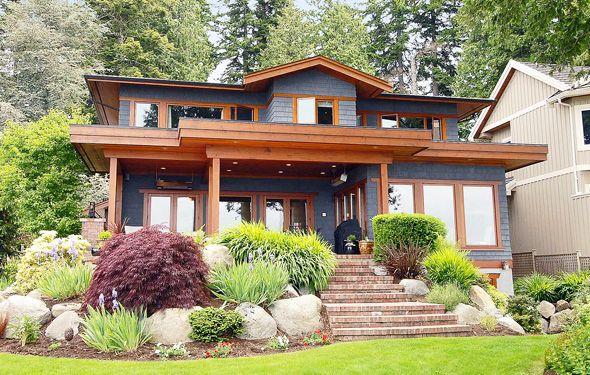 Arts And Crafts Surrey Home Sells For 3 7 Million Westcoast Homes Craftsman Bungalows Craftsman Style Bungalow Architecture