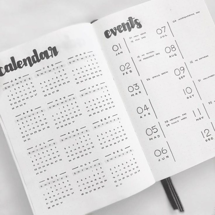 35 Minimalist Bullet Journal Spreads You Have To Try Right Now - TheFab20s