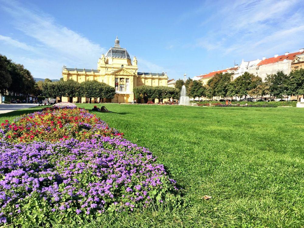 King Tomislav Square Zagreb Croatia Usa By Bk Bazhe Zagreb Croatia Croatia Zagreb