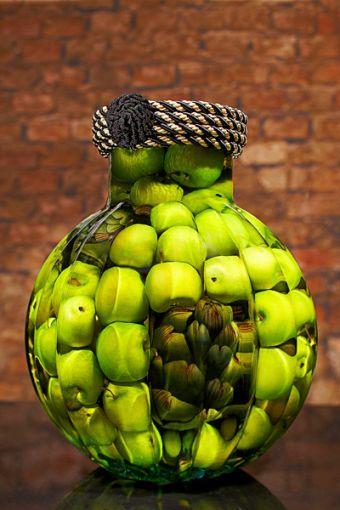 Green apple decor for kitchen | Apple kitchen decor in 2019 ...