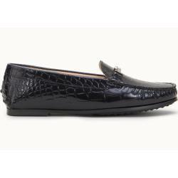 Tod's – City Gommino Mokassins aus Leder, Schwarz, 40 – Shoes Tod's