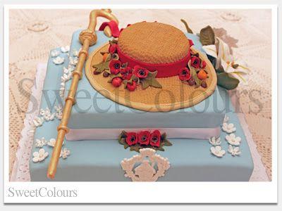 SweetColours, tartas decoradas: Tarta Pregonero Semana Santa San Fernando (Cádiz)